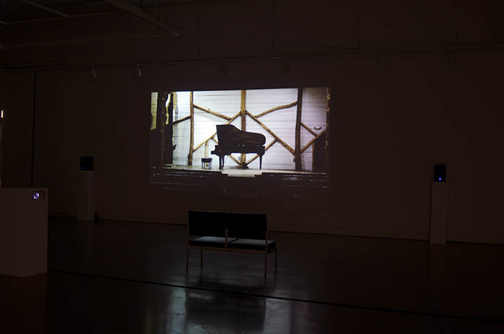 Nature of Silence, installation view, University of Victoria, 2013