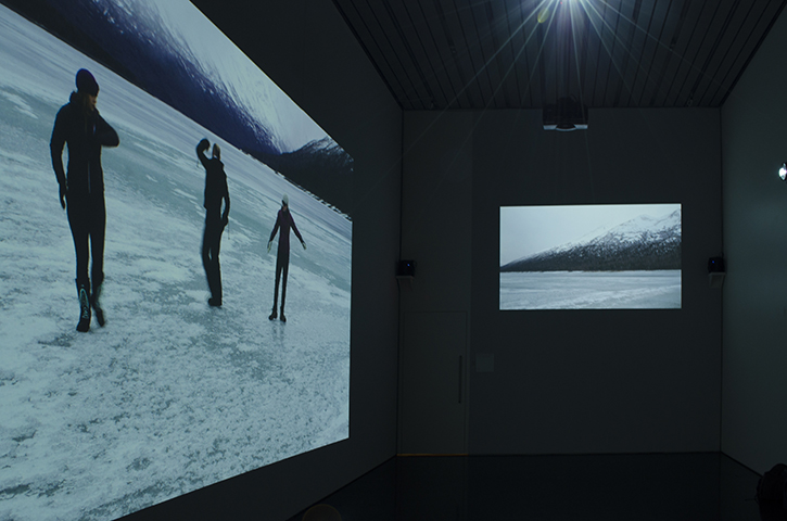 Alaska Variations 3 channel sound and video installation at Anchorage Museum, 2016