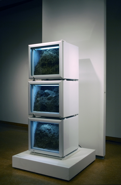 Permafrost Turbo Version 1, installation view, 2010