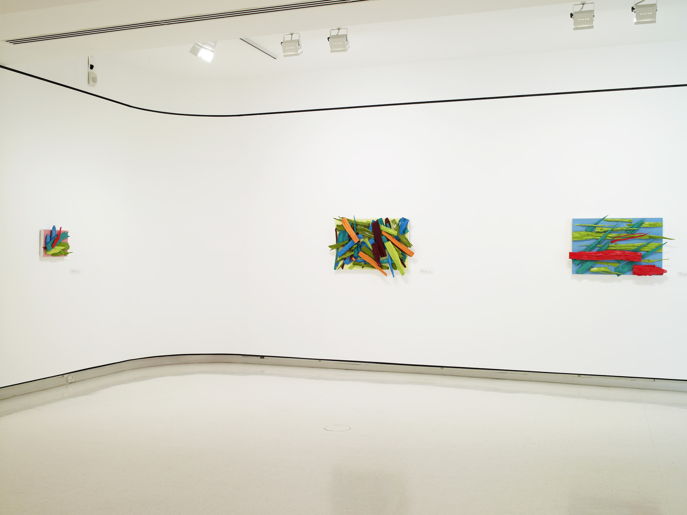Xyloexpressionist Paintings at UB Anderson Gallery, Buffalo, NY, 2007