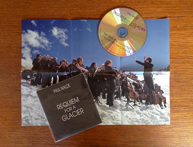 Requiem for a Glacier Soundtrack CD