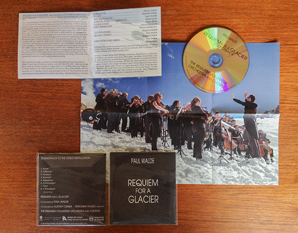 Requiem For A Glacier Soundtrack CD